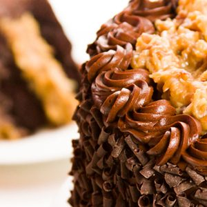 Gourmet German Chocolate Cake Coffee