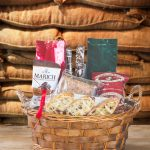 Small Gourmet Coffee and Snack Gift Basket