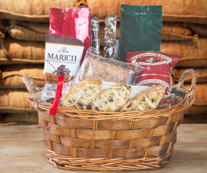 Coffee and Snack Gift Basket - Small