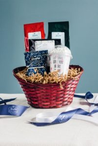 Coffee Beverage Trio Gift Basket - Small