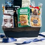 Decaf Coffee and Snack Gift Basket - Large