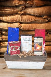 Small Gourmet Coffee Beverage Trio Gift Basket
