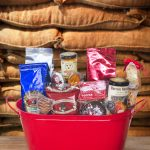 Medium Gourmet Coffee Beverage Trio Gift Basket