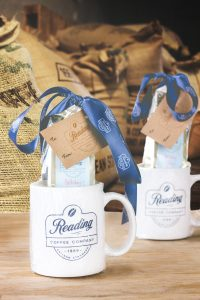 Reading Coffee Mug Gift Pack