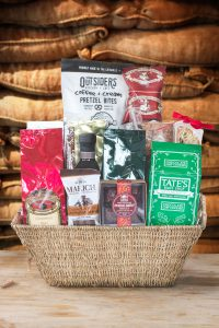 Large Gourmet Coffee and Snack Gift Basket