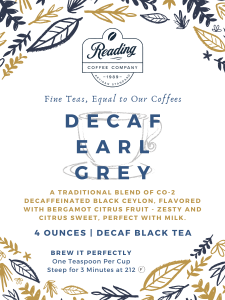 Decaf Earl Grey Loose Leaf Tea - 4 oz.