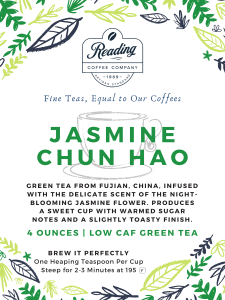 Jasmine Chun Hao Green Loose Leaf Tea - 4 oz.
