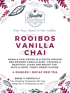 Rooibos Vanilla Chai Loose Leaf Tea - 4 oz.