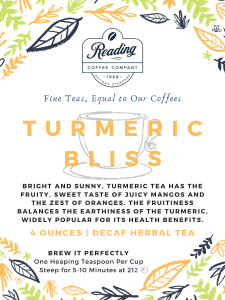 Turmeric Bliss Loose Leaf Tea - 4 oz.