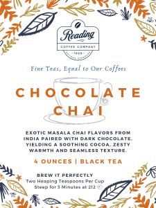 Chocolate Chai Loose Leaf Tea - 4 oz.