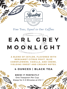 Earl Grey Moonlight Loose Leaf Tea - 4 oz.