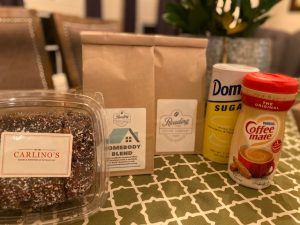 Stay-At-Home Coffee Care Package with Brownies