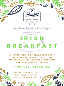 Irish Breakfast Loose Leaf Tea - 4 oz.