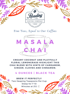 Masala Chai Loose Leaf Tea - 4 oz.