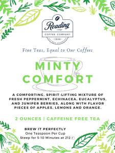Minty Comfort Loose Leaf Tea - 2 oz.