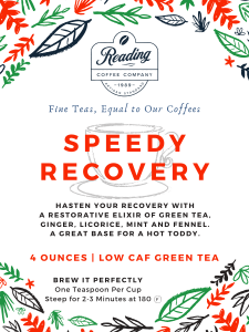 Speedy Recovery Loose Leaf Tea - 4 oz.