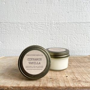 Cinnamon Vanilla Soy Candle Mini