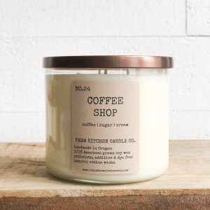 Coffee Shop Soy Candle Triple Wick