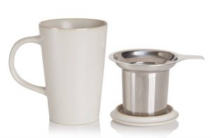 Kawa Mug and Tea Infuser - Ash Color