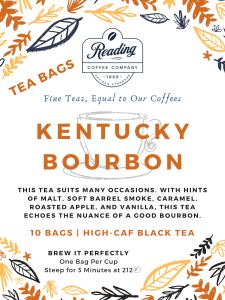 Kentucky Bourbon Tea Bags - (10)