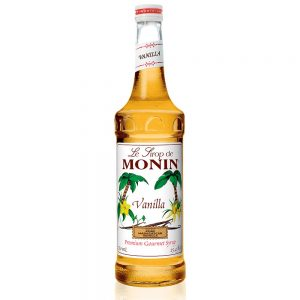 Monin Premium Flavoring Syrup – 750 ML Glass Bottle