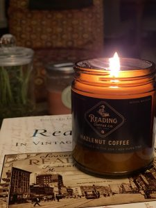 Hazelnut + Coffee Candle